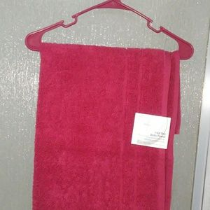 New red towel